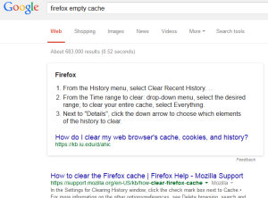 google-firefox-empty-cache